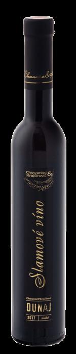 Chowaniec & Krajčírovič - Dunaj - slamové víno, sladké, ročník 2017