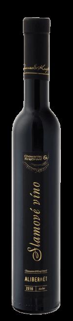 Chowaniec & Krajčírovič - Alibernet - slamové víno, sladké, ročník 2016