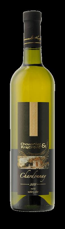 Chowaniec & Krajčírovič - Chardonay - neskorý zber, suché, ročník 2019